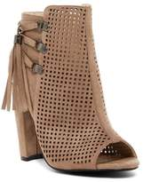 Catherine Malandrino Mowglious Perforated Open Toe Bootie
