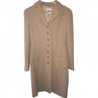 Moschino Cheap & Chic Moschino Cheap And Chic Camel Wool Coat for Women
