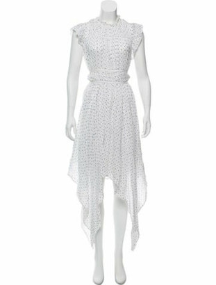 Ulla Johnson Printed Maxi Dress White