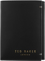 Ted Baker Jonnys Mini Card Leather Wallet Black