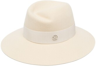 Maison Michel Kyra wool felt fedora hat