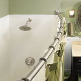 Moen Adjustable Curved Brushed Nickel Shower Rod