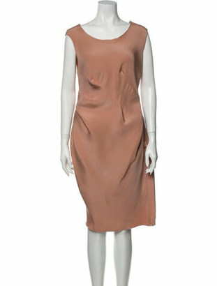 Lanvin 2013 Knee-Length Dress Pink
