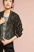 Anthropologie Elora Sequined Jacket