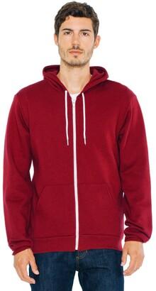 American Apparel Flex Fleece Long Sleeve Zip Hoodie