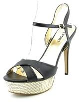 Report Vallerie Open Toe Synthetic Platform Sandal.