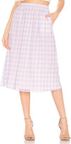 Majorelle Allyson Midi Skirt