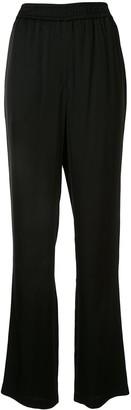 GOEN.J Satin Straight-Leg Trousers