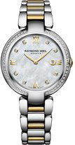 Raymond Weil Women's 32mm Gold Plated Bracelet Quartz MOP Dial Analog Watch 1600-SPS-00995