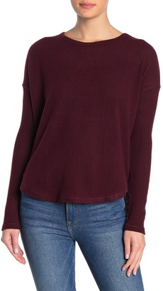 Theo And Spence Ribbed Knit Pullover