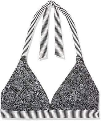 Esprit Bodywear Women's 998ef1a829 Bikini Top, (Black 001), (Size: 44 D)