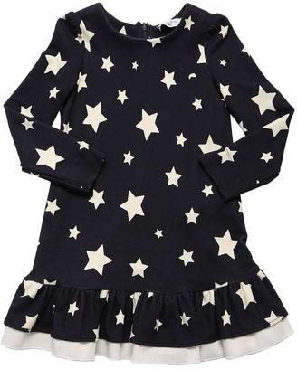 MonnaLisa Star Print Viscose Dress