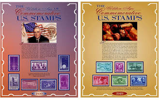 S.t.a.m.p.s. American Coin Treasures Commemorative From 1939 and 1949