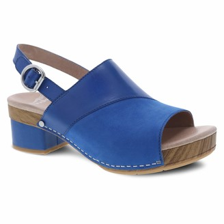 Dansko Women's Madalyn Cobalt Sandal 5.5-6 M US