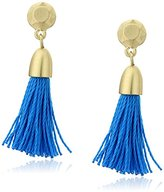 Karen Kane Casablanca Tassel Drop Earrings