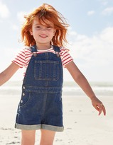 Boden Short Denim Overalls