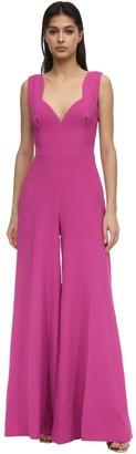 Emilia Wickstead Double Crepe Long Jumpsuit