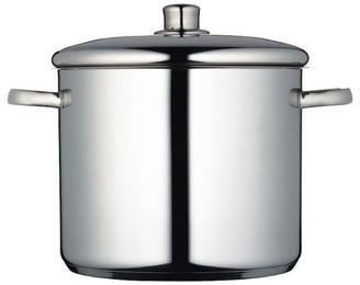 Master Class Stainless Steel 28 Cm 14 Litres Stock Pot - Silver