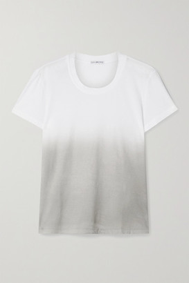 James Perse Boy Ombre Cotton-jersey T-shirt