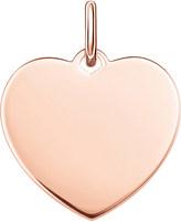 Thomas Sabo Love Coin large engraveable heart pendant
