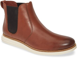 Cole Haan Original Grand Waterproof Leather Chelsea Boot