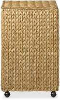 Williams-Sonoma Williams Sonoma Nantucket Woven Seagrass Hamper on Wheels