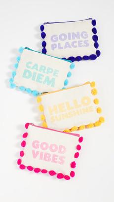 Shopbop @Home Multipurpose Pom Pom Pouch