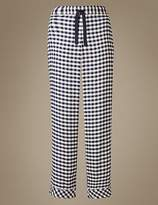 Marks and Spencer Gingham Pyjama Bottoms