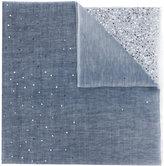 Hemisphere sequins trim scarf - women - Wool/Linen/Flax - One Size