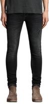 Allsaints Allsaints Baden Cigarette Skinny Jeans, Jet Black