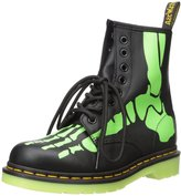 Dr. Martens Womens Skelly Print Softy T Leather Boots 6 US