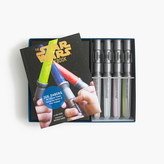 J.Crew Kids' The Star WarsTM Cookbook with lightsaber ice-pop trays