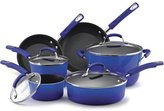 Rachael Ray 10-pc. Nonstick Porcelain Enamel II Cookware Set, Blue Gradient