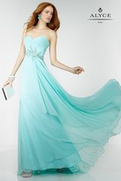 Alyce Paris - 6510 Prom Dress in Seabreeze