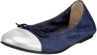Unisa TRINO-NU Unisex - Children's Ballet Flats Blue Size: 8 UK Child