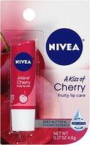 Nivea Lip Care A Kiss of Cherry Fruity Lip Care, 0.17 Ounce