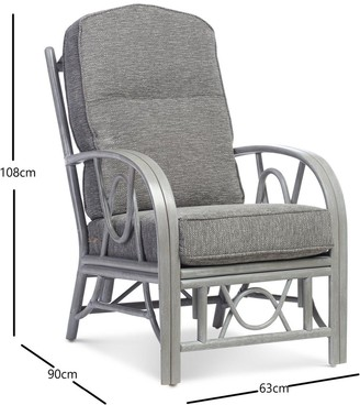 Desser Grey Bali Conservatory Chair