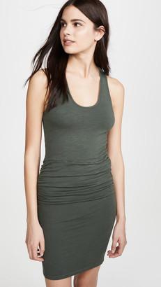 Monrow Supersoft Tank Shirred Dress
