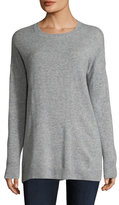 Cashmere Dropped Shoulder Tunic