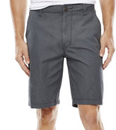 Arizona Solid Flat-Front Poplin Shorts