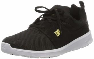 DC Women's Heathrow Se Low-Top Sneakers Black/Gold 201) 5 UK