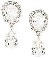 Dolce & Gabbana drop crystal clip-on earrings