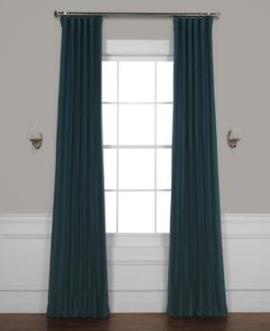 "Bellino Exclusive Fabrics & Furnishings Blackout 50"" x 108"" Curtain Panel"