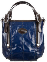 Tod's Coated Canvas Satchel