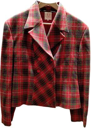 Loewe Red Wool Jackets