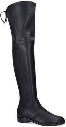 Stuart Weitzman Leather Lowland Over-The-Knee Boots
