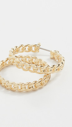 Luv Aj The Mini Cuban Link Hoops