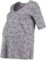 Bellybutton Print Tshirt asphalt melange/grey