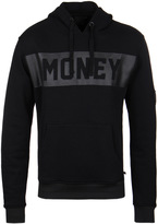 Money Black Punched Out Hooded Sweatshirt