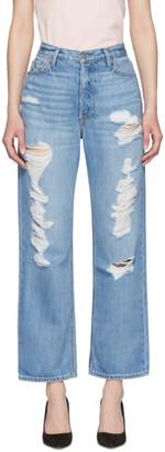 GRLFRND Blue Rhea Jeans